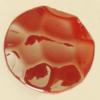 Uv polishing Acrylic Beads, 34mm Hole:2.5mm, Sold by Bag