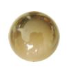 Uv polishing Acrylic Beads, Round 26mm Hole:3mm, Sold by Bag
