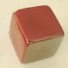 Uv polishing Acrylic Beads, Cube 20mm Hole:2mm, Sold by Bag