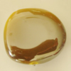 Uv polishing Acrylic Beads, 32x29mm Hole:3mm, Sold by Bag