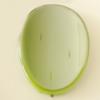 Uv polishing Acrylic Beads, Fold Flat Oval 43x30mm Hole:2mm, Sold by Bag