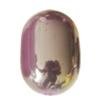 Uv polishing Acrylic Beads, Oval 28x20mm Hole:5mm, Sold by Bag
