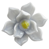 Porcelain Cabochons, No Hole Headwear & Costume Accessory, Flower Size:About 25mm, Sold By Bag