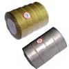 Gold & Silver Mettlic Ribbon, 6mm wide,Sold per 250-yards spool