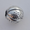 Jewelry findings, CCB plastic European style Beads Antique sliver, 15mm Hole:4mm, Sold by Bag