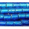 Drawbench Glass Beads, Tube, 6x7mm, Sold per 32-Inch Strand
