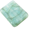 Crackle Acrylic Beads, Frosted Surface Effect, 23x18x5mm ,Hole:Approx 2mm, Sold by Bag
