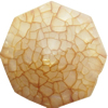 Crackle Acrylic Beads, Frosted Surface Effect, 28x14mm, Hole:Approx 2mm, Sold by Bag