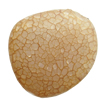Crackle Acrylic Beads, Frosted Surface Effect, Nuggets, 33x13x35mm ,Hole:Approx 2mm, Sold by Bag