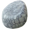 Crackle Acrylic Beads, Frosted Surface Effect ,30x32mm, Hole:Approx 2mm, Sold by Bag