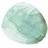 Crackle Acrylic Beads ,Frosted Surface Effect, Oval ,20x30x4mm, Hole:Approx 2mm, Sold by Bag