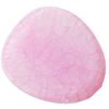 Crackle Acrylic Beads ,Frosted Surface Effect, Oval ,31x44x6mm, Hole:Approx 2mm, Sold by Bag