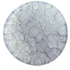 Crackle Acrylic Beads, Frosted Surface Effect, Flat round ,38x5mm ,Hole:Approx 2mm, Sold by Bag