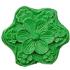 Cinnabar Beads, Carved, Flower, 28x28mm, Sold by PC