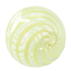 Lampwork Blown Vessels Beads,Round, 25mm, Sold by PC