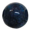 Imitate Gemstone Acrylic Beads, 18x15mm Hole:7mm, Sold by Bag
