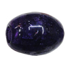 Imitate Gemstone Acrylic Beads, Oval 17x13mm Hole:5mm, Sold by Bag
