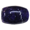 Imitate Gemstone Acrylic Beads, Drum 25x18mm Hole:8mm, Sold by Bag