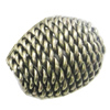 Iron Thread Component Handmade Lead-free, 19x15mm, Sold by Bag