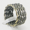 Iron Thread Component Handmade Lead-free, 7x14mm, Sold by Bag