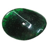 Imitate Gemstone Acrylic Beads, Twist Flat Oval 37x28mm Hole:3mm, Sold by Bag