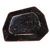 Imitate Gemstone Acrylic Beads, Polygon 39x31mm Hole:2mm, Sold by Bag