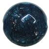 Imitate Gemstone Acrylic Beads, Flat Round 17mm Hole:2.5mm, Sold by Bag