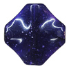 Imitate Gemstone Acrylic Beads, Diamond 29mm Hole:2mm, Sold by Bag