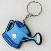 Plastic Jewelry Little Charm, PVC material, DMF free, 61x40mm, Sold by PC