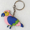 Plastic Jewelry Little Charm, PVC material, DMF free, 59x32mm, Sold by PC