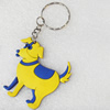 Plastic Jewelry Little Charm, PVC material, DMF free, Dog, 50mm, Sold by PC