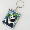 Plastic Jewelry Little Charm, PVC material, DMF free, 42x51mm, Sold by PC