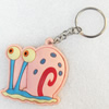 Plastic Jewelry Little Charm, PVC material, DMF free, 50x52mm, Sold by PC