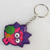 Plastic Jewelry Little Charm, PVC material, DMF free, 40x45mm, Sold by PC