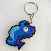 Plastic Jewelry Little Charm, PVC material, DMF free, 30x47mm, Sold by PC