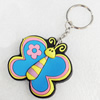 Plastic Jewelry Little Charm, PVC material, DMF free, Butterfly, 50x50mm, Sold by PC