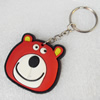 Plastic Jewelry Little Charm, PVC material, DMF free, 45x43mm, Sold by PC