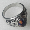 Stainless Steel Ring, 16mm, Sold by PC