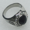 Stainless Steel Ring, 18mm, Sold by PC