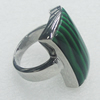 Stainless Steel Ring, 15x27mm, Sold by PC