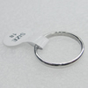 Stainless Steel Ring, 2mm, Sold by PC
