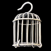 Jewelry Hollow Pendant, Iron Cage, 29x47mm, Sold by PC