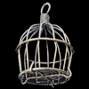 Jewelry Hollow Pendant, Iron Cage, 35x54mm, Sold by PC
