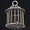 Jewelry Hollow Pendant, Iron Cage, 35x50mm, Sold by PC