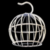 Jewelry Hollow Pendant, Iron Cage, 36x45mm, Sold by PC