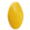 Solid Acrylic Beads, Faceted Twist Oval 32x18mm Hole:2.5mm, Sold by Bag