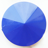 Solid Acrylic Beads, Faceted Flat Round 35x35x12mm Hole:1mm, Sold by Bag