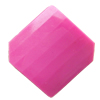 Solid Acrylic Beads, Faceted Diamond 21x20mm Hole:2mm, Sold by Bag