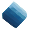 Solid Acrylic Beads, Faceted Diamond 32x32mm Hole:2mm, Sold by Bag