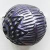Washed Acrylic Beads, Round 18mm Hole:3.5mm